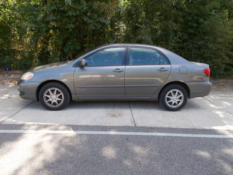 2007 Toyota Corolla for sale at A & P Automotive in Montgomery AL