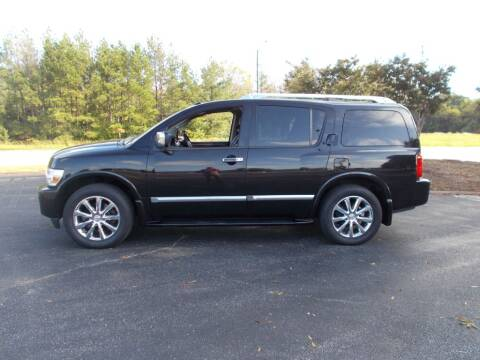 2008 Infiniti QX56 for sale at A & P Automotive in Montgomery AL