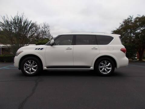 2012 Infiniti QX56 for sale at A & P Automotive in Montgomery AL