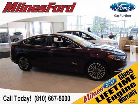 2017 Ford Fusion Energi for sale in Lapeer, MI
