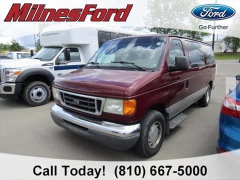 2003 Ford E-Series Wagon for sale in Lapeer, MI