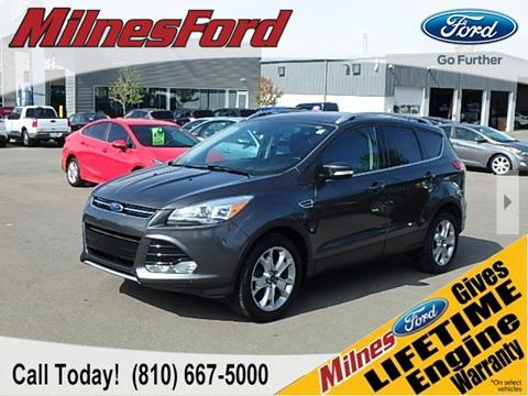 2015 Ford Escape for sale in Lapeer, MI