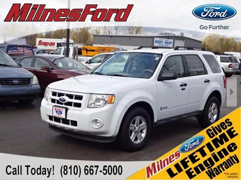 2011 Ford Escape Hybrid for sale in Lapeer, MI