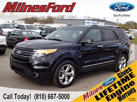 2012 Ford Explorer for sale in Lapeer, MI
