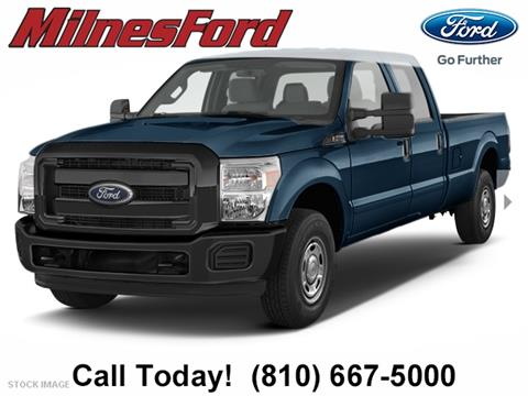 2015 Ford F-250 Super Duty for sale in Lapeer, MI