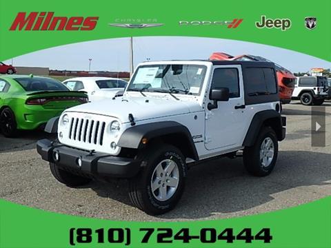 2017 Jeep Wrangler for sale in Lapeer, MI