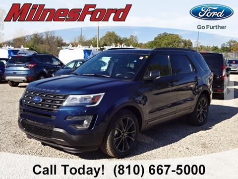 2017 Ford Explorer for sale in Lapeer, MI