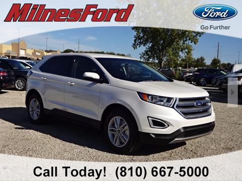 2018 Ford Edge for sale in Lapeer, MI