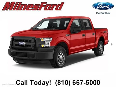 2017 Ford F-150 for sale in Lapeer, MI