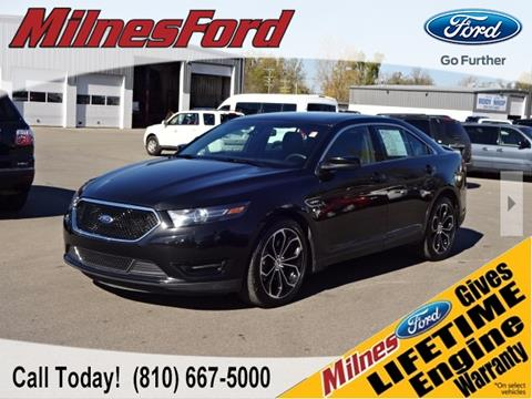 2014 Ford Taurus for sale in Lapeer, MI