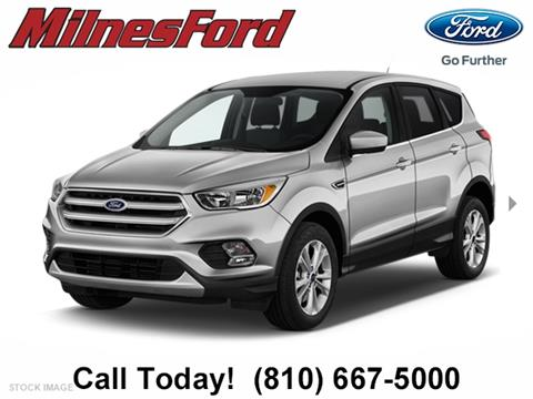 2017 Ford Escape for sale in Lapeer, MI
