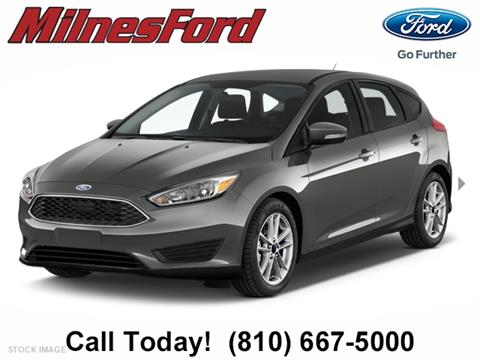 2017 Ford Focus for sale in Lapeer, MI