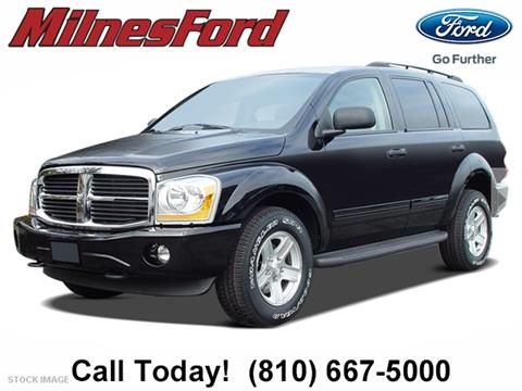 2004 Dodge Durango for sale in Lapeer, MI
