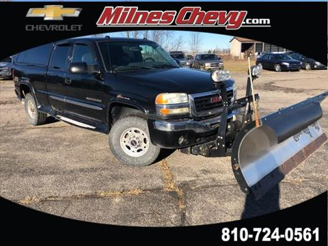 used 2004 gmc sierra 2500hd for sale in michigan. Black Bedroom Furniture Sets. Home Design Ideas