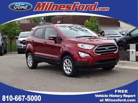 2019 Ford EcoSport for sale in Lapeer, MI