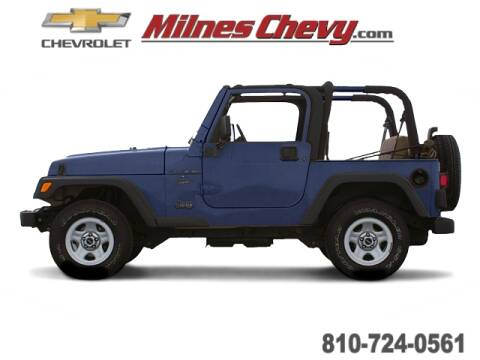 2000 Jeep Wrangler for sale in Lapeer, MI