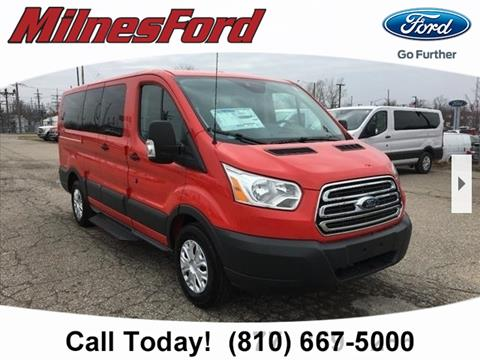 2017 Ford Transit Wagon for sale in Lapeer, MI