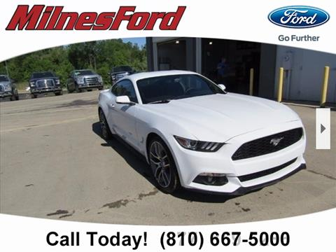 2017 Ford Mustang for sale in Lapeer, MI