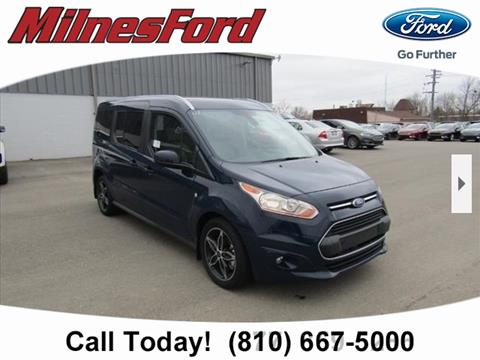 2017 Ford Transit Connect Wagon for sale in Lapeer, MI