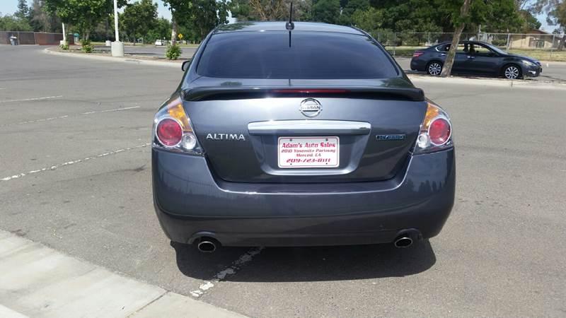2008 Nissan Altima Hybrid 4dr Sedan - Merced CA