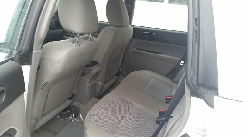 2006 Subaru Forester AWD 2.5 X 4dr Wagon w/Manual - Merced CA