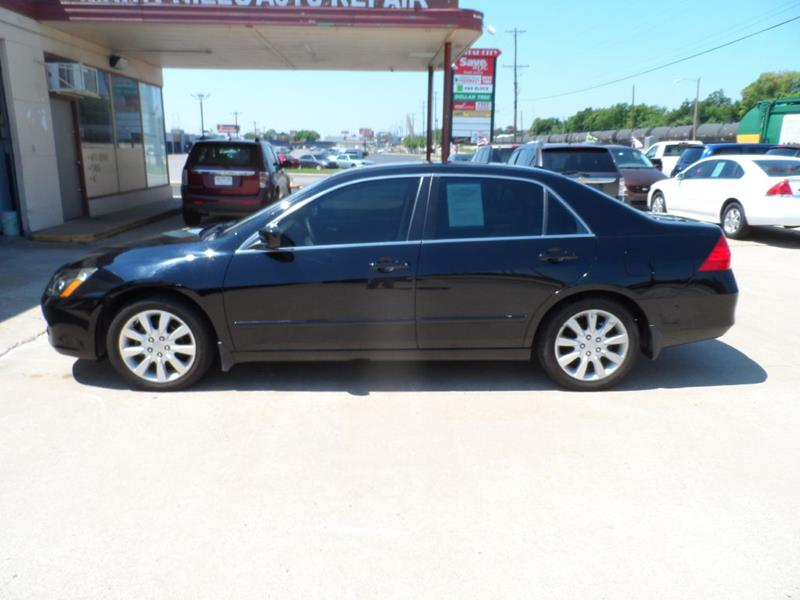 2006 Honda Accord For Sale At Mark Hill Auto Sales In Tulsa OK