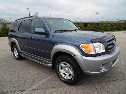 2002 Toyota Sequoia for sale in Uniontown, PA