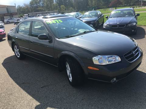 2001 Nissan Maxima For Sale In Uniontown, PA