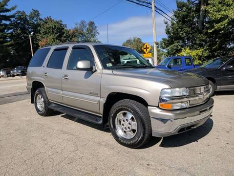 2001 Chevrolet Tahoe for sale in Derry, NH