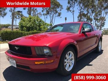 2008 Ford Mustang for sale in San Diego, CA