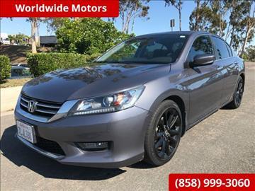 2015 Honda Accord for sale in San Diego, CA