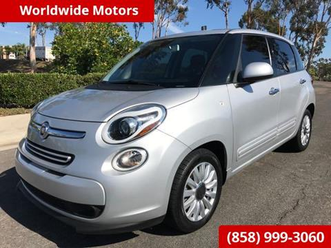 2014 FIAT 500L for sale in San Diego, CA