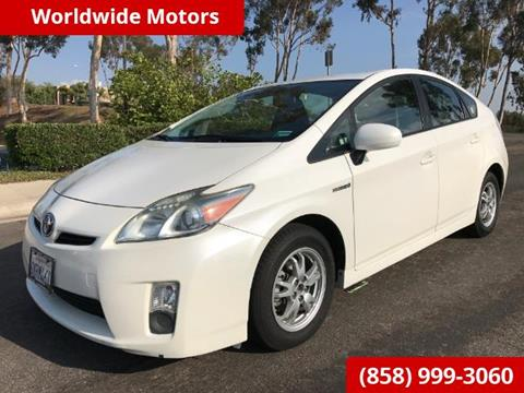 2010 Toyota Prius for sale in San Diego, CA