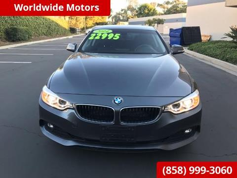 2014 BMW 4 Series for sale in San Diego, CA