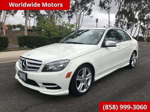 2011 Mercedes-Benz C-Class for sale in San Diego, CA