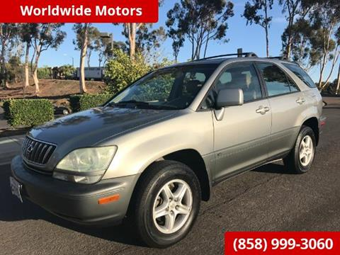 2002 Lexus RX 300 for sale in San Diego CA