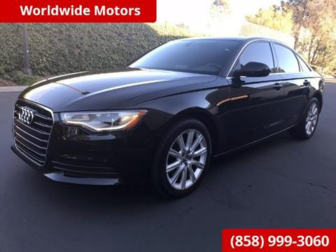 2014 Audi A6 for sale in San Diego, CA