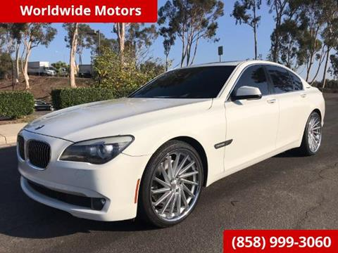 2011 BMW 7 Series for sale in San Diego CA