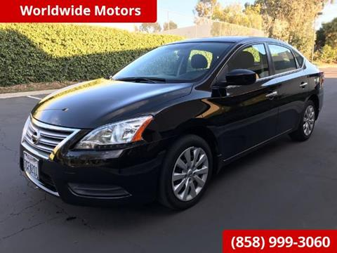 2013 Nissan Sentra for sale in San Diego CA