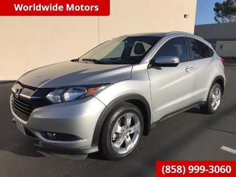 2016 Honda HR-V for sale in San Diego CA