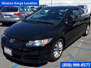 2011 Honda Civic for sale in San Diego, CA