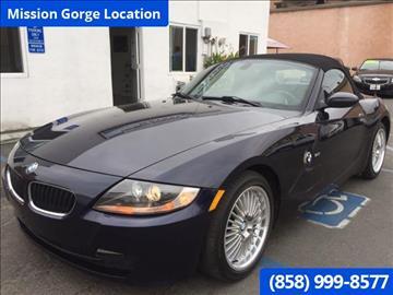 2006 BMW Z4 for sale in San Diego, CA
