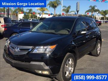 2007 Acura MDX for sale in San Diego, CA