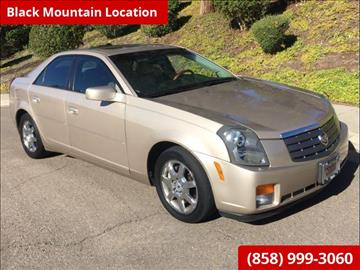 2005 Cadillac CTS for sale in San Diego, CA