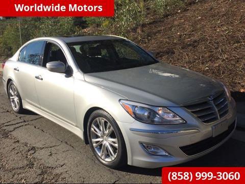 2013 Hyundai Genesis for sale in San Diego, CA