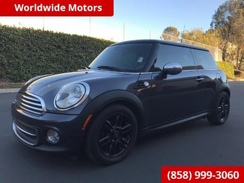 2012 MINI Cooper Hardtop for sale in San Diego, CA