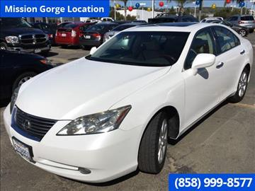 2007 Lexus ES 350 for sale in San Diego, CA
