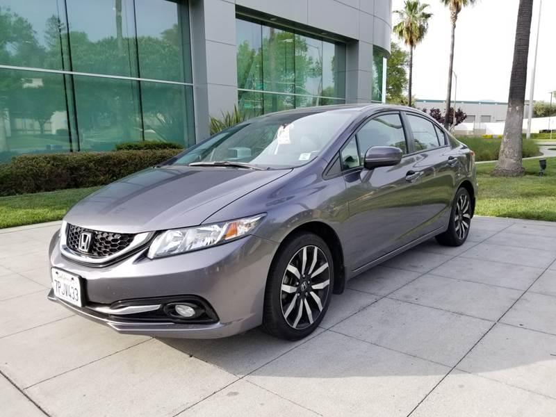 Honda San Jose >> 2015 Honda Civic Ex L 4dr Sedan In San Jose Ca Mcg Investment Inc