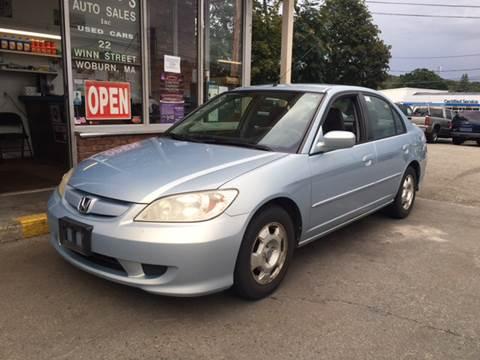 2005 Honda Civic for sale in Woburn, MA