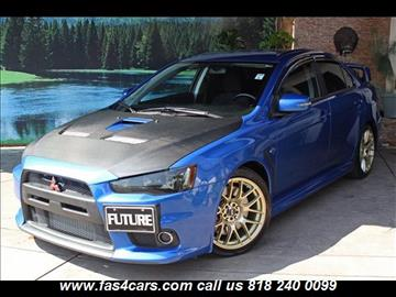 2015 mitsubishi lancer evolution for sale in glendale ca
